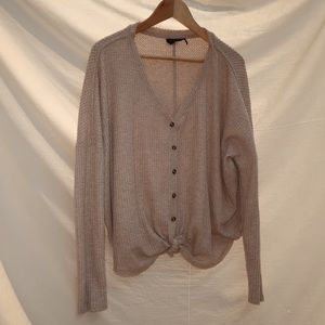 Urban outfitters tan sweater